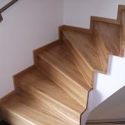 Treppe Treppenbau Schreinerei Mullers & Startz Buche und Weiß Lichtenbusch01
