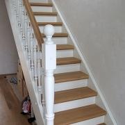 Treppe Treppenbau Schreinerei Mullers & Startz Buche und Weiß Lichtenbusch02