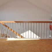 Treppe Treppenbau Schreinerei Mullers & Startz Buche Edelstahl Hehlrath002