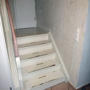 Treppe Treppenbau Schreinerei Mullers & Startz Buche Edelstahl Vorher-Nachher 04