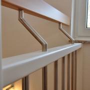 Treppe Treppenbau Schreinerei Mullers & Startz Buche Edelstahl Alsdorf004