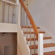 Treppe Treppenbau Schreinerei Mullers & Startz Buche Edelstahl Alsdorf005
