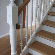 Treppe Treppenbau Schreinerei Mullers & Startz Buche und Weiß Lichtenbusch03