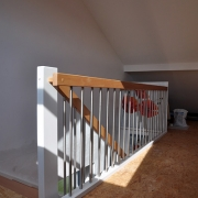Treppe Treppenbau Schreinerei Mullers & Startz Buche Edelstahl Helrath 001