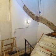 Treppe Treppenbau Schreinerei Mullers & Startz Buche Edelstahl Vorher-Nachher 02