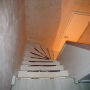 Treppe Treppenbau Schreinerei Mullers & Startz Buche Edelstahl Vorher-Nachher 06
