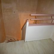 Treppe Treppenbau Schreinerei Mullers & Startz Buche Edelstahl Vorher-Nachher 08